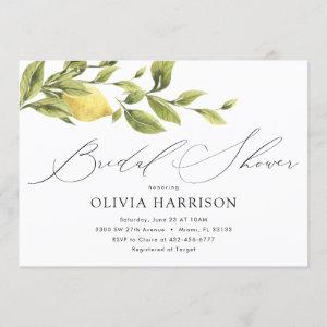 Lemon Bridal Shower Invitation starting at 2.40