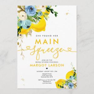 Lemon Bridal Shower She Found Her Main Squeeze Invitation starting at 2.61