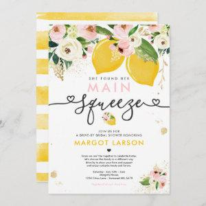Lemon Drive By Bridal Shower Lemon Main Squeeze Invitation starting at 2.61