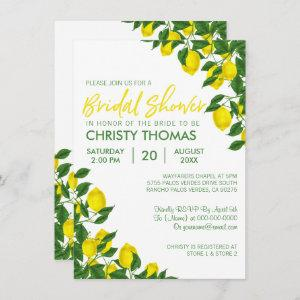 Lemon Summer | Bridal Shower Invite starting at 2.21