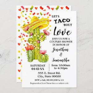 Let's taco 'bout Love fiesta couples shower starting at 2.55