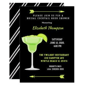 Lime Margarita Bridal Cocktail Shower Invitation starting at 2.85