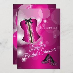 Lingerie Pink Bridal Shower Party Invitation starting at 2.40
