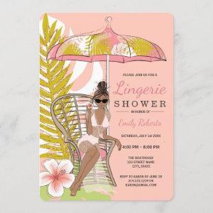 Lingerie Shower African American Bride Invitation starting at 2.60