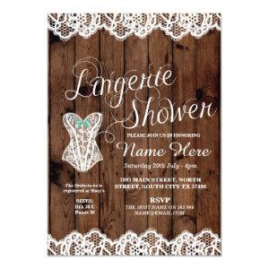 Lingerie Shower Bridal Party Corset Lace Invite starting at 2.51