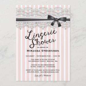Lingerie Shower Chic Lace Garter Party Invitation starting at 2.51