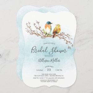 Love Birds Couple Bridal Shower Invitation starting at 2.65