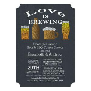 Love Brewing Barbecue Bridal Shower Invitation starting at 2.76