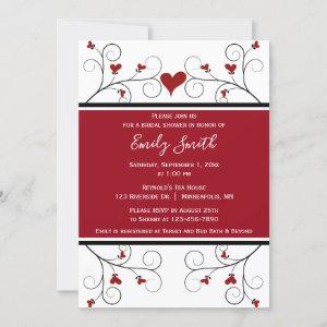 Love Grows | Red Hearts Bridal Shower starting at 2.50