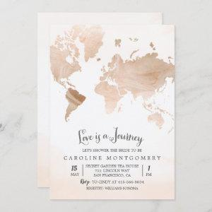 Love is a Journey Map Bridal Shower starting at 2.50