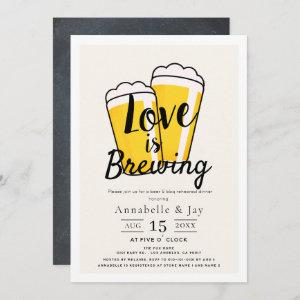 Love is Brewing Beer BBQ Rehearsal Dinner starting at 2.56