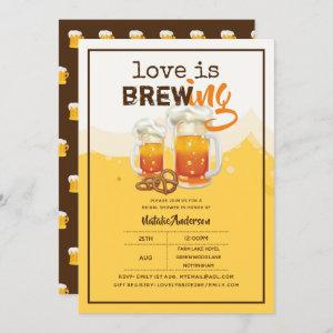 Love Is Brewing BEER Bridal Couples Shower Modern starting at 2.40