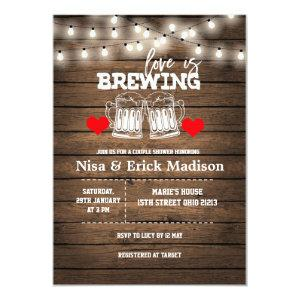Love is brewing Bridal Shower Invitation starting at 2.66
