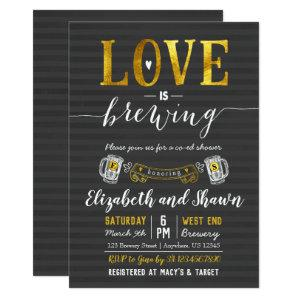 Love is Brewing Bridal Shower Invitation Couples starting at 2.66