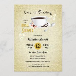 Love Is Brewing Coffee Bridal starting at 2.35