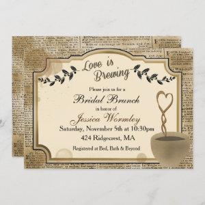 Love is Brewing Coffee Bridal Shower starting at 2.40