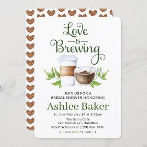 Love is Brewing Coffee Cup Bridal Shower starting at 2.75