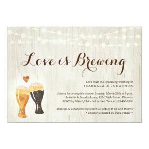 Love is Brewing Couples Bridal Shower Invitation starting at 2.56