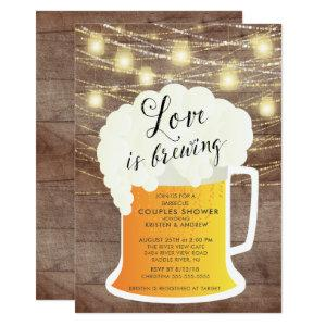 Love Is Brewing Couples Shower Invitation starting at 2.51