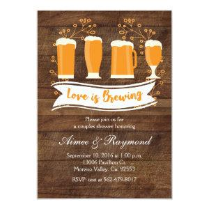 Love is Brewing Couples Shower Invitation starting at 2.66