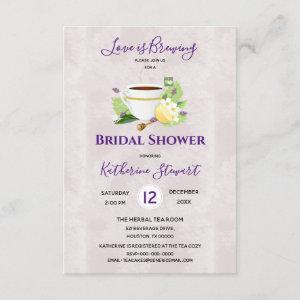 Love Is Brewing Herbal Tea | Bridal Shower starting at 1.95