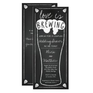 Love is Brewing Wedding Shower Invitation starting at 2.55