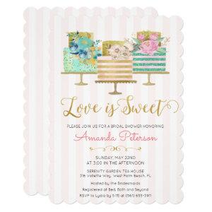 Love is Sweet Bridal Shower Invitation starting at 3.10