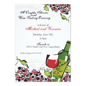 Love of Wine and Grape Invitation starting at 3.24