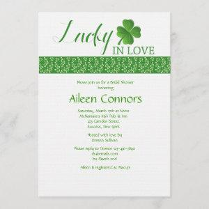 Lucky in Love Bridal Shower Invitation starting at 2.56
