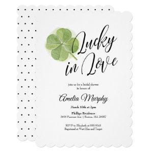 Lucky in Love Bridal Shower Invitation starting at 2.60
