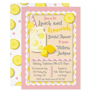 Lunch and Lemonade Bridal Shower Invitations starting at 2.55