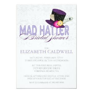 Mad Hatter Bridal Shower Invitation starting at 2.66