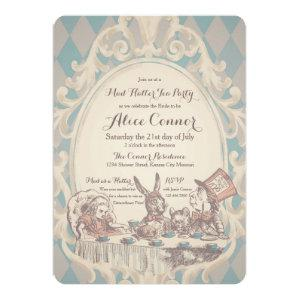 Mad Hatter Tea Party Bridal Shower Invitations starting at 3.18