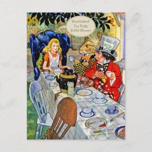 Mad Hatter's Tea Party Bridal Shower Invitation starting at 2.31