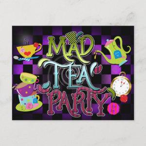 MAD TEA PARTY Wonderland Birthday Party starting at 2.26