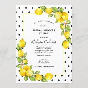 Main Squeeze Lemon Bridal Shower by Mail Invitation starting at 2.55