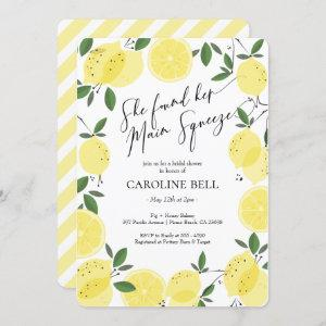 Main Squeeze Lemon Bridal Shower Invitation starting at 2.60