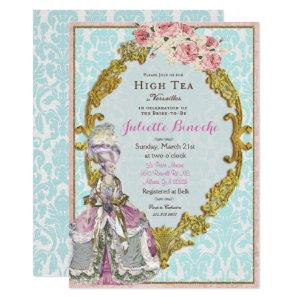Marie Antoinette Bridal Shower Invitation starting at 2.50