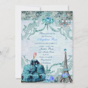Marie Antoinette Queen of France Invitation starting at 2.51