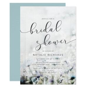 Meadow Song fading Wildflowers Boho Bridal Shower Invitation starting at 2.55