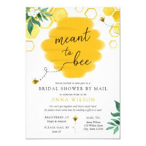 Meant to Bee Bridal Shower by Mail Invitation starting at 2.85