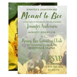 Meant to Bee Bridal Shower Invitation starting at 2.66