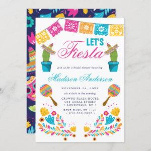 Mexican Fiesta Floral Cactus Bridal Shower starting at 2.40