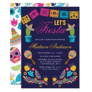 Mexican Fiesta Floral Cactus Bridal Shower Invitation starting at 2.55