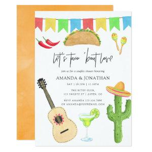 Mexican Fiesta Taco 'bout Love Couples Shower Invitation starting at 2.66