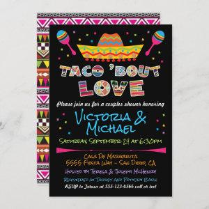 Mexican Fiesta taco bout love couples shower starting at 2.45