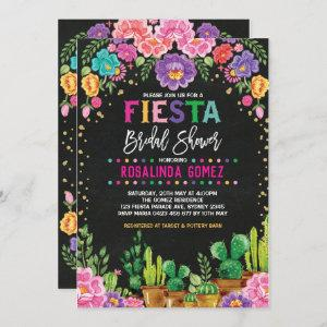 Mexican Floral Bridal Shower Fiesta Flowers Invite starting at 2.66
