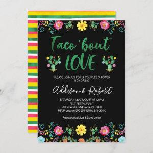 Mexican Taco 'bout Love Couples Shower Invitation starting at 2.10