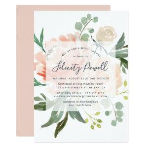 Midsummer Floral Bridal Shower Invitation starting at 2.51