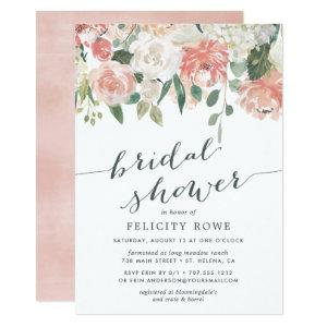 Midsummer Floral | Bridal Shower Invitation starting at 2.26